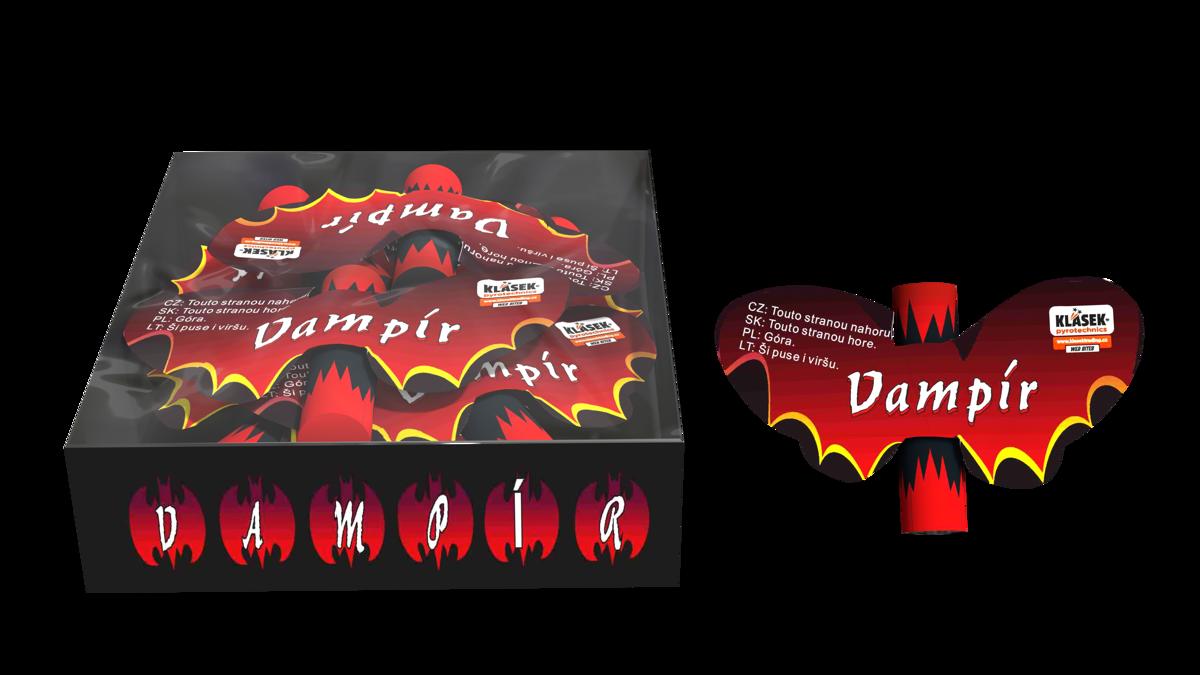 "Mini fejerverkai ""Vampyrai"" (6 vnt.)"