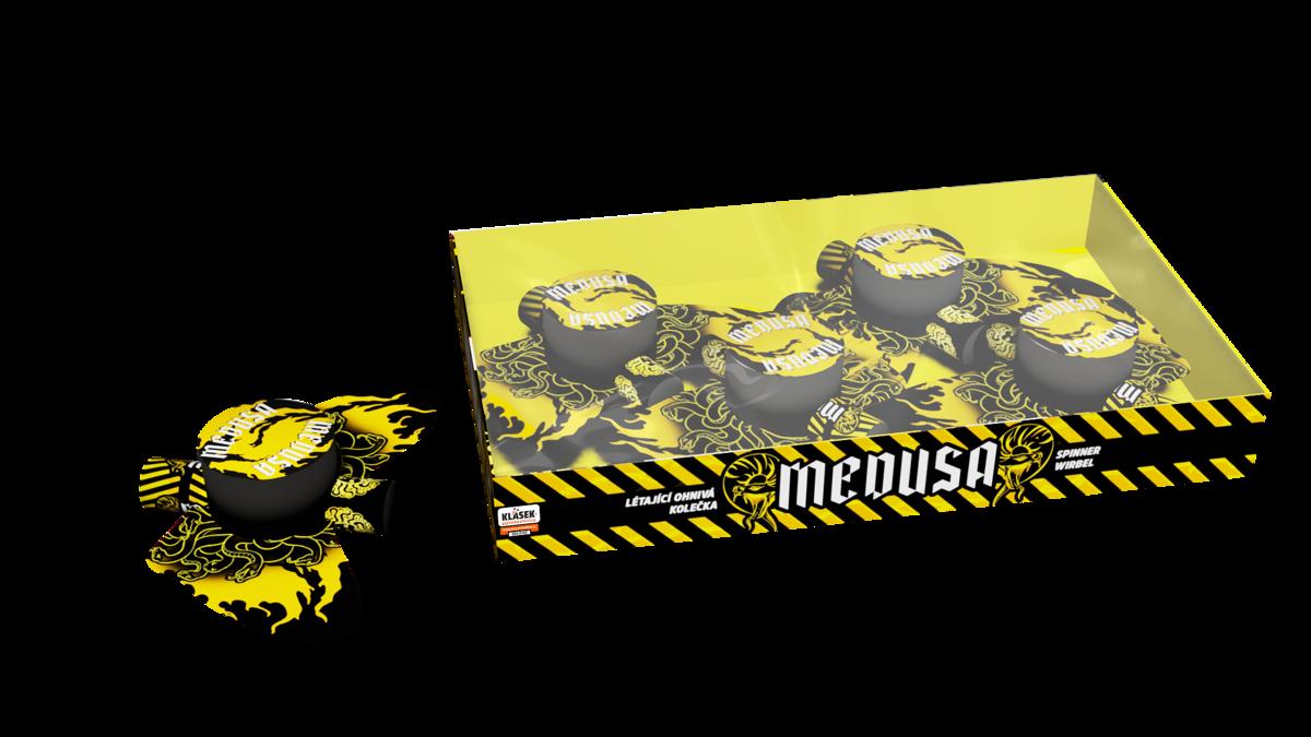 """Mini fejerverkai """"Medūzos"""" (4 vnt.)"""