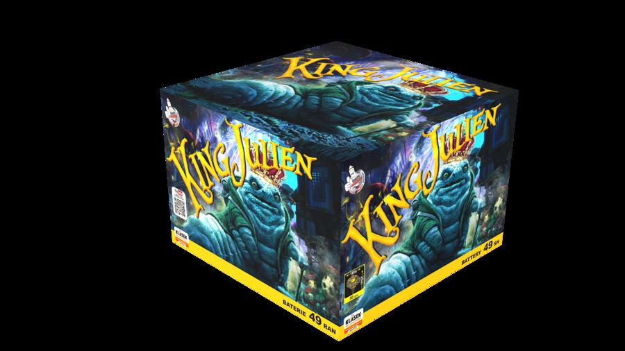 """Fejerverkas-baterija """"King Julien"""" (49 šūviai, 20mm)"""